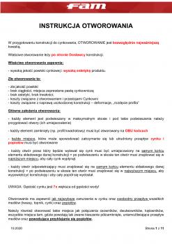 Instrukcja Otworowania Zasady Ogólne